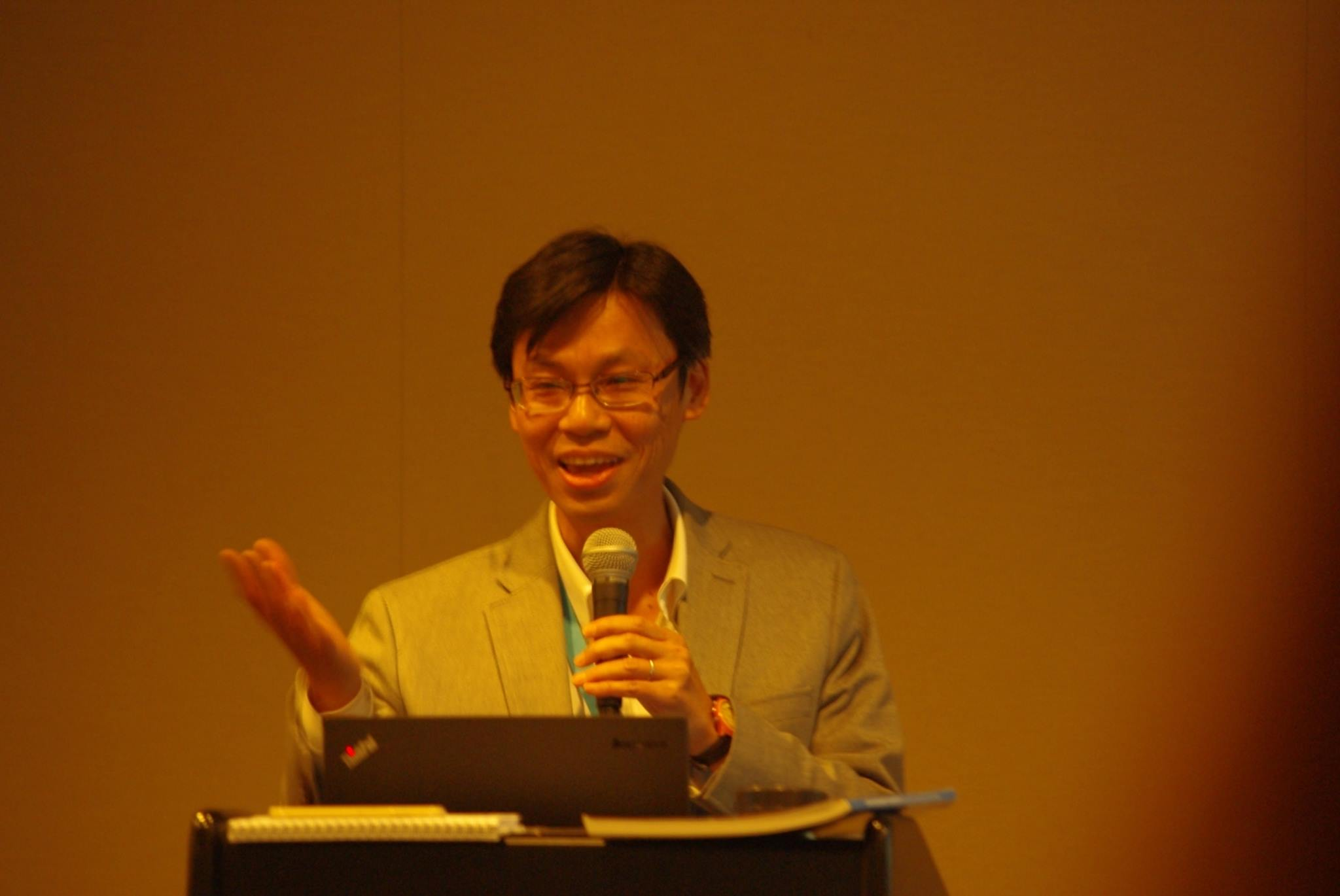 Hiro Hattori, from the Data & Analytics section at UNICEF, presented research on the Out of School Children Initiative.