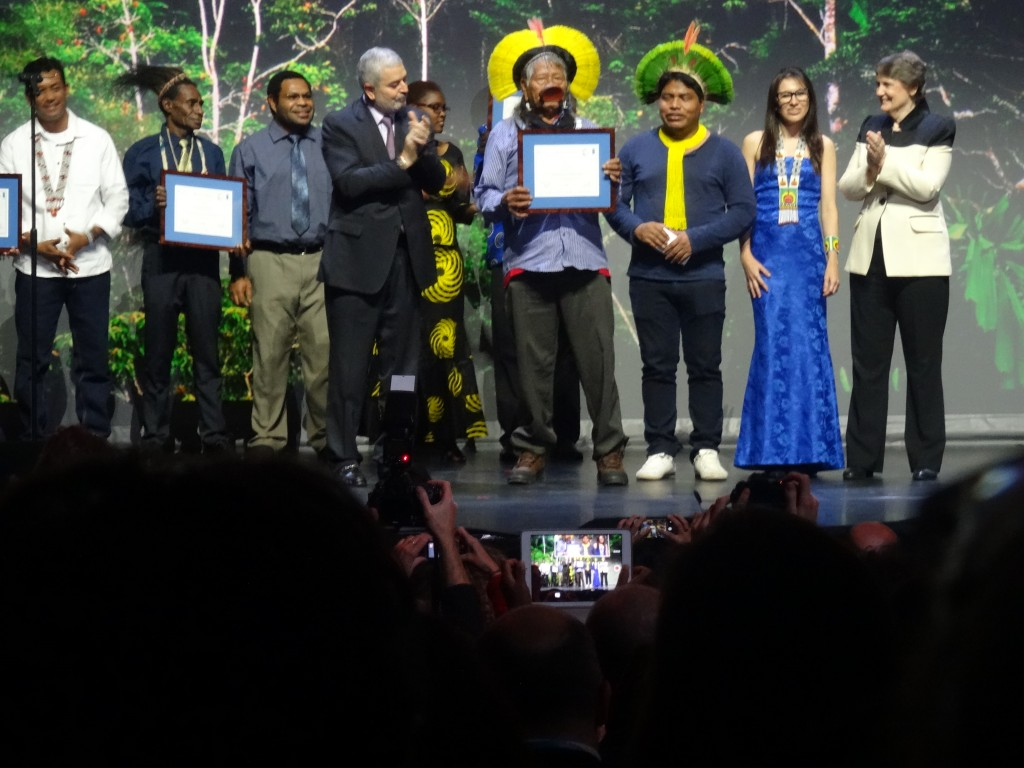 Equator Prize winners were honored for outstanding ​local achievement in advancing sustainable development solutions for people, nature and resilient communities.
