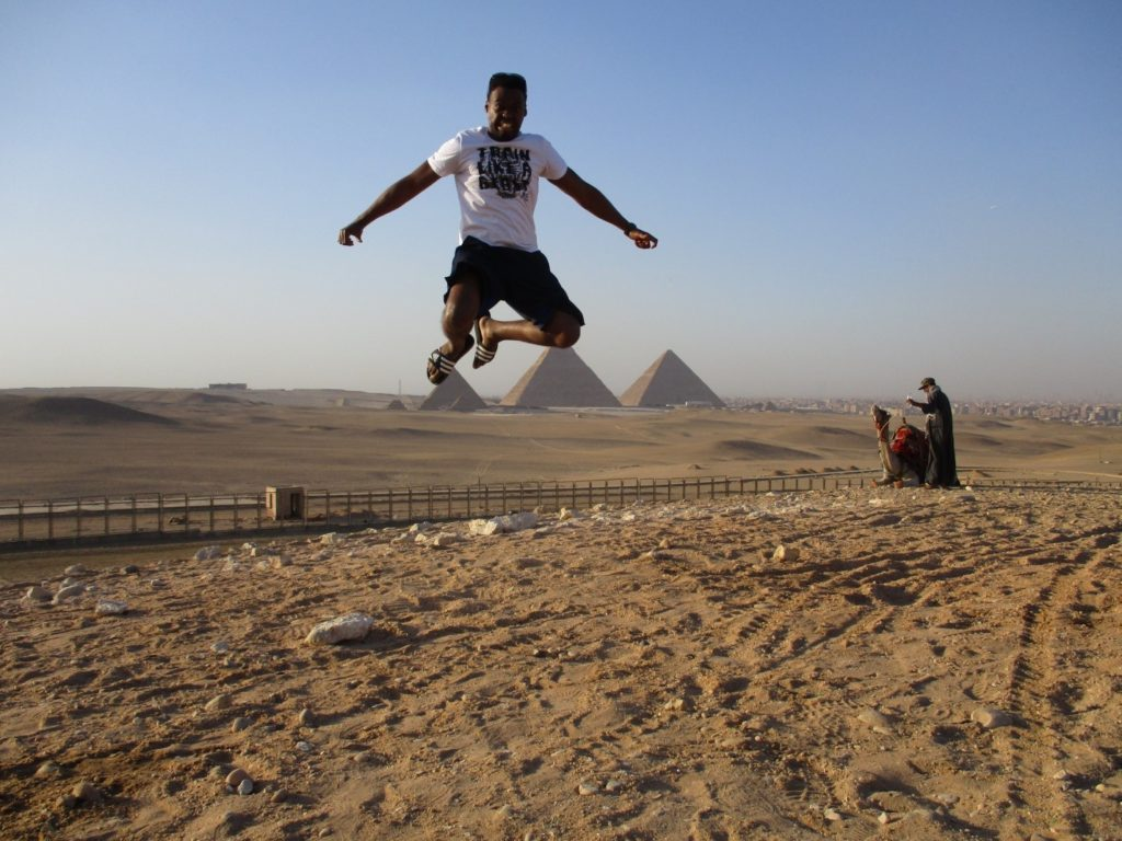 Jumping for joy about Arabic!