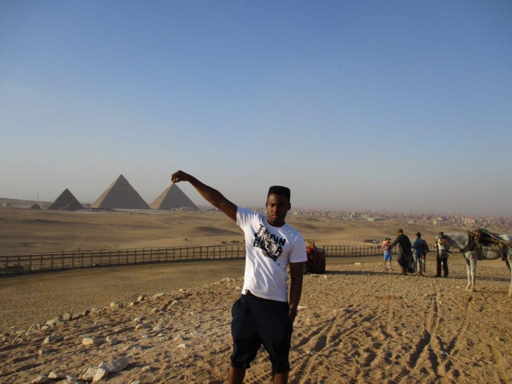 David at Giza