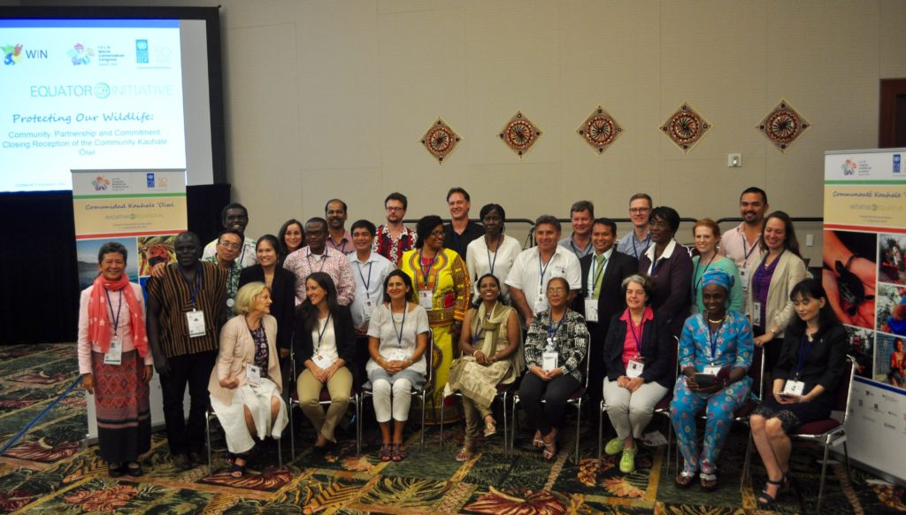 Equator Initiative Team at 2016 IUCN World Conservation Congress